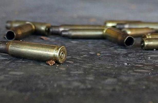 Un muerto y tres lesionados deja tiroteo en el Edomex