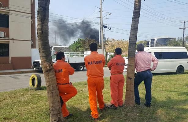 Detectan derrame de hidrocarburos en Tampico