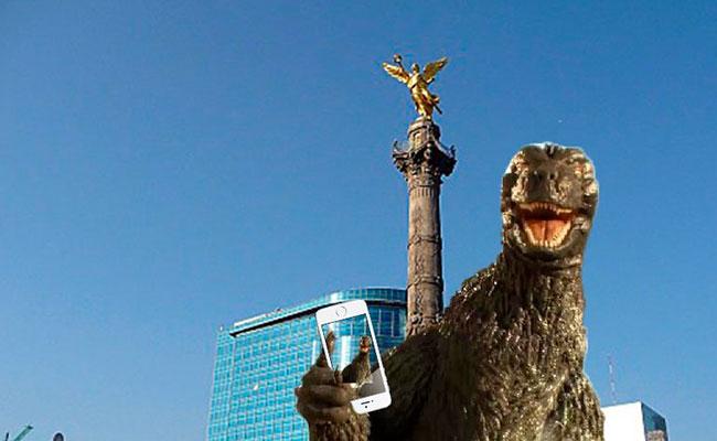 Memes dan bienvenida a Godzilla a la Ciudad de México