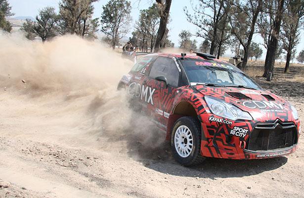 Ricardo Treviño va con todo al Wold Rally Championship 2