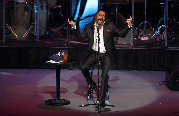 """Diego """"El Cigala"""" hizo vibrar el Auditorio a ritmo de salsa"""