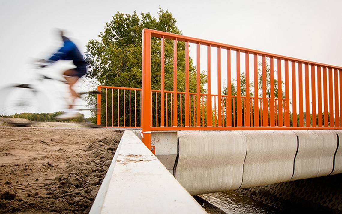 Holanda sigue sorprendiendo: inauguran el primer puente construido ¡con una impresora 3D!