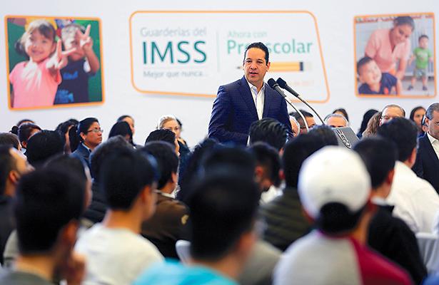 Impartirán educación preescolar en guarderías del IMSS Querétaro