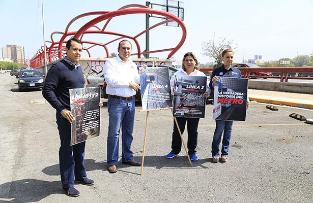 """Urgen a """"El Bronco"""" a terminar el Metro de Monterrey"""