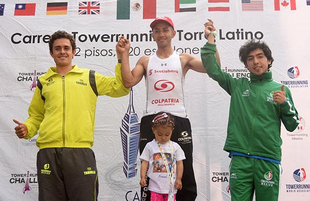 Frank Carreño, líder en la carrera Torre Latino