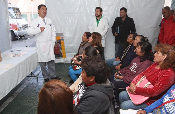 En marcha, en Pachuca, campaña regional de consulta especializada