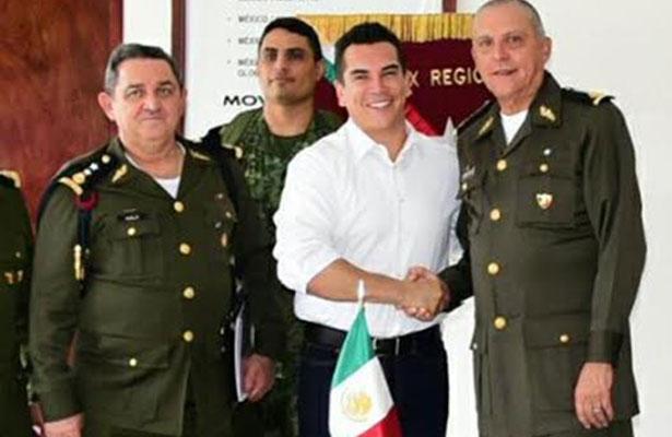 Sedena corrobora vigilancia  en zona sur de Campeche