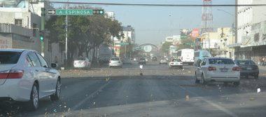 Reportan helicóptero perdido debido a fuertes vientos en Nuevo León