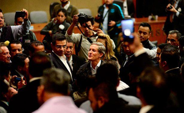 Legislatura lista para tomar de protesta de Alfredo del Mazo