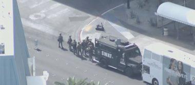 Tiroteo en Las Vegas Boulevard deja un muerto y un herido