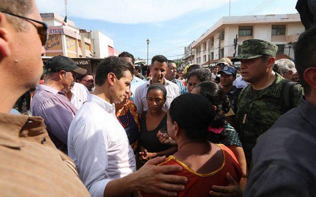 En todo el país CFE restablece servicio a 99% de clientes: Peña Nieto