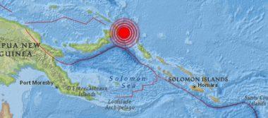 Lanzan alerta de tsunami tras sismo de magnitud 8,0 en Papúa Nueva Guinea