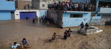 En Perú suben a 90 los muertos y 120 mil damnificados por lluvias