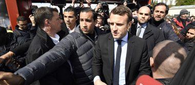 Marine Le Pen visita fábrica Whirpool y eclipsa a Emmanuel  Macron
