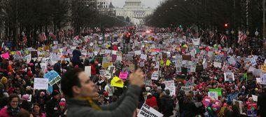 Responde Trump a las manifestaciones en su contra