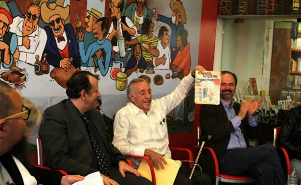 Se siente bonito: Rius y su primer premio de Caricatura
