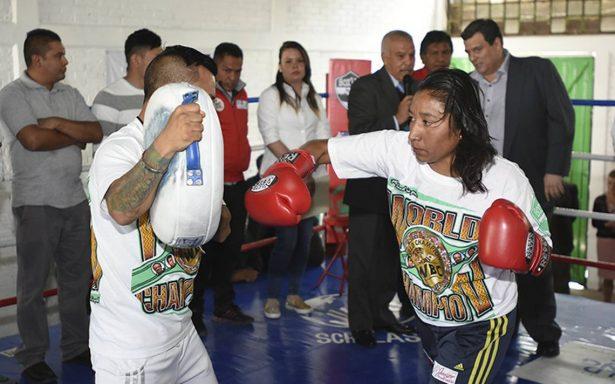 CMB dispone de ring para jóvenes que 'pelean' tras las rejas