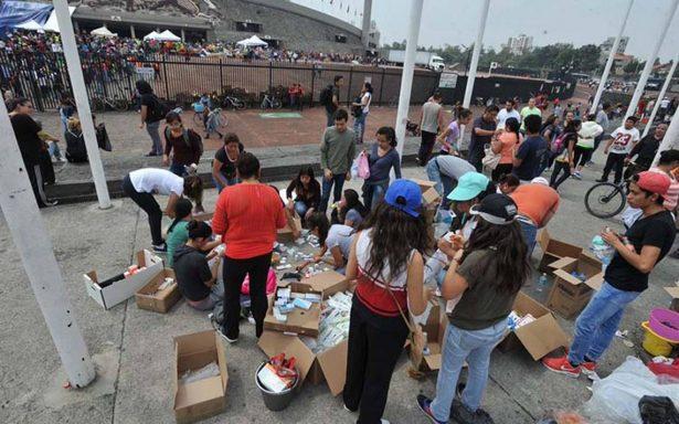 Estudiantes del IPN y UNAM mantendrán apoyo tras sismo pese a regreso a clases