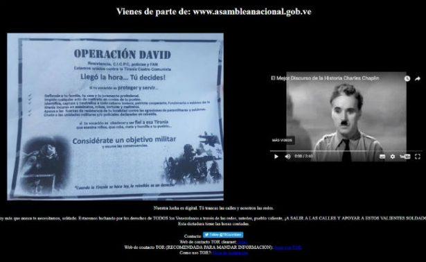Hackean webs de poderes públicos en Venezuela y llaman a protestar