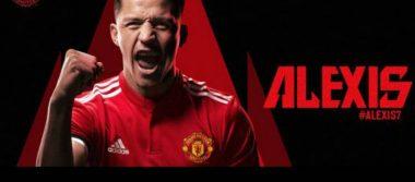 ¡Bombazo! Alexis es nuevo jugador del Manchester United
