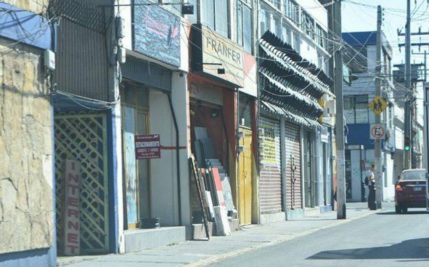 Centro Histórico de Toluca en crisis