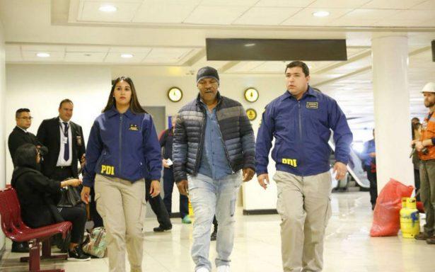 Niegan a Mike Tyson ingreso a Chile por antecedentes penales