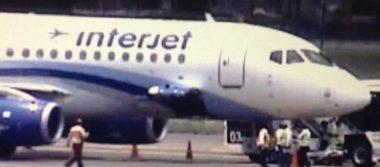 Falsa, alerta de bomba en avión de Interjet; pasajero ocasionó incidente
