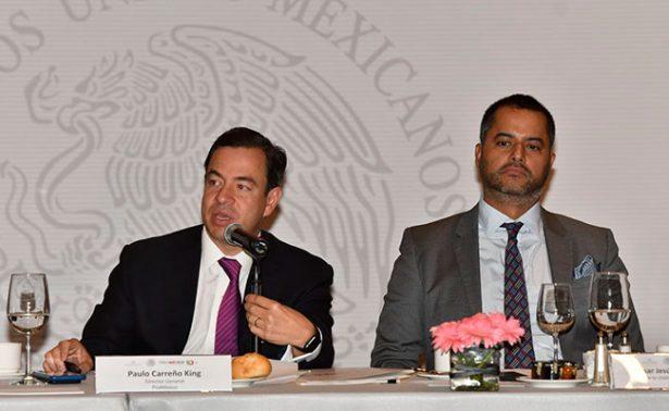 El país recibe inversión extranjera por 109 mil mdd en 10 años de vida de ProMéxico