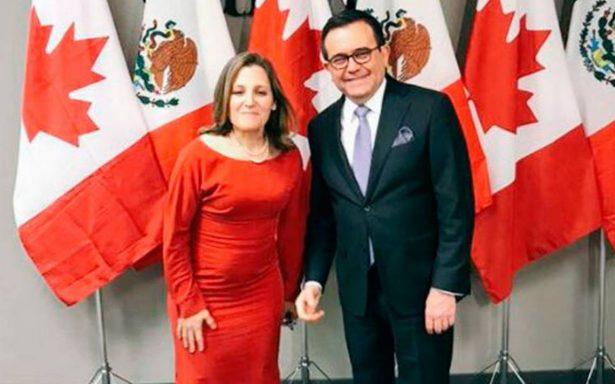 Sexta ronda de negociaciones del TLCAN será decisiva y compleja, coinciden México y Canadá