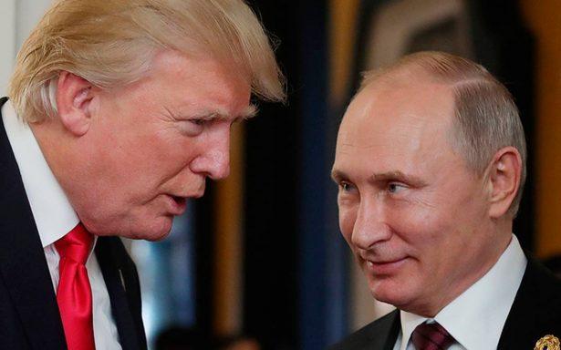 Putin agradece a Trump por información que evitó atentado en Rusia