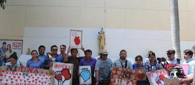 Periodistas chiapanecos protestan por asesinato de colegas