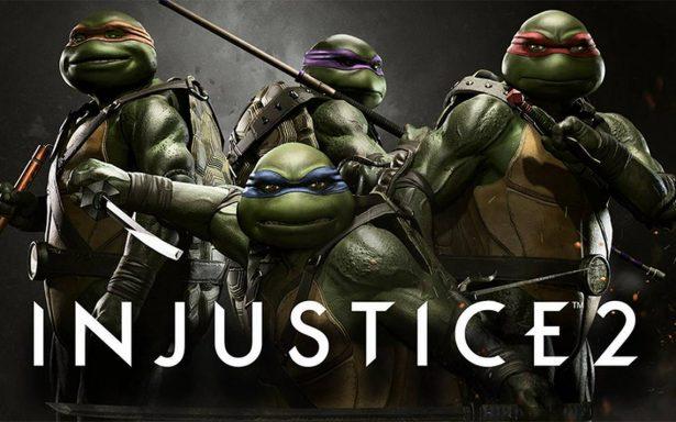 """¿Fan de Injustice 2? Ahora podrás pelear tus batallas con """"Las Tortugas Ninja"""""""