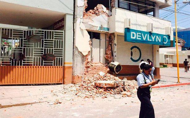Aumenta a 5 el número de muertos en Guerrero por sismo