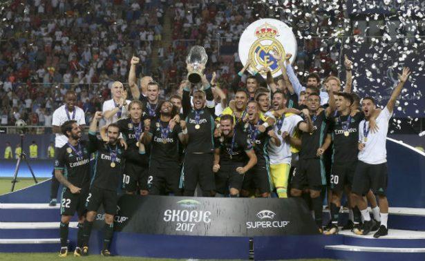Real Madrid vence al Manchester United y se lleva la Supercopa de Europa