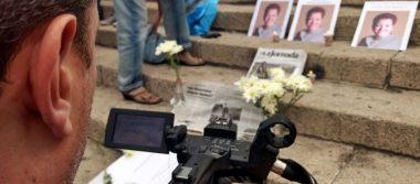 Periodistas marchan en México en protesta por asesinatos de colegas