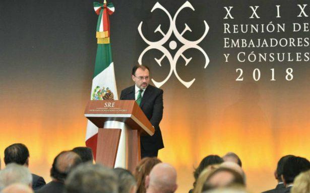 Videgaray pide neutralidad e imparcialidad en proceso electoral