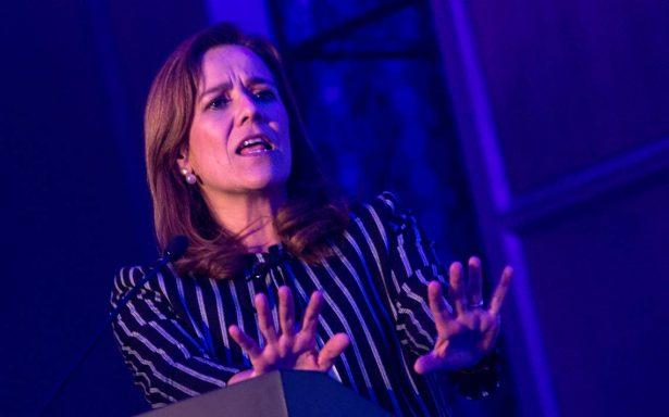 Margarita Zavala defiende a México contra Trump, afirma que no pagará el muro