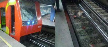 Muere hombre al ser arrollado por convoy en las vías del metro La Viga