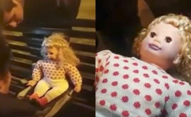 [Video] Muñeca poseída impresiona a incrédulos en un parque de Perú