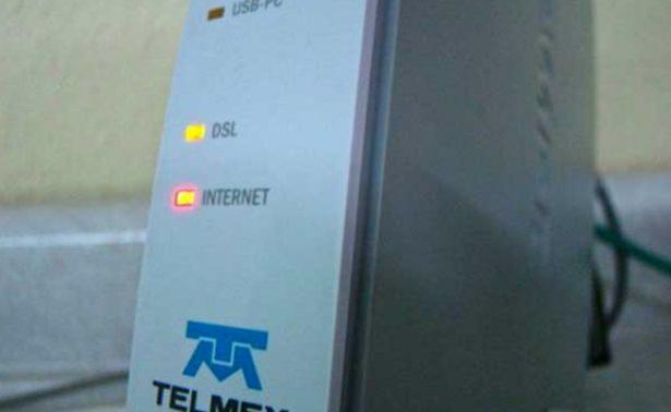 Posible ruptura de fibra óptica deja a miles sin servicio de Telmex