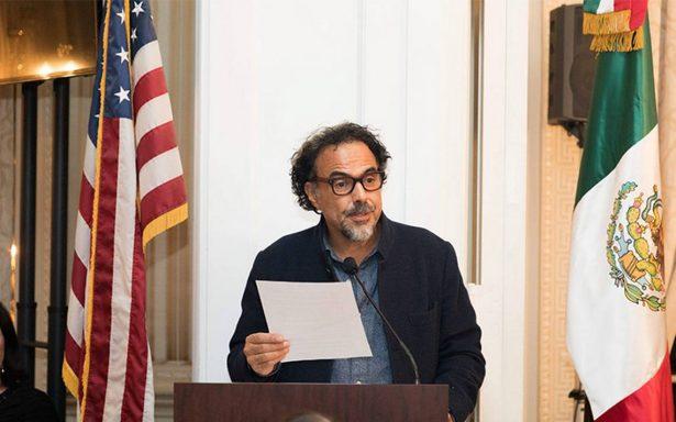 Generosidad de sociedad mexicana se distingue a nivel mundial: Iñárritu