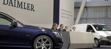 Daimler estima crecimiento en ventas de vehículos