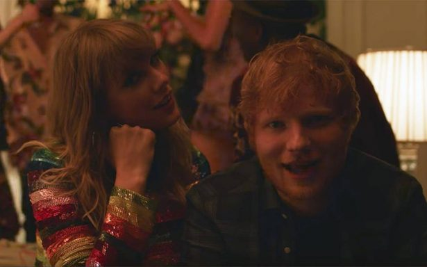 "Taylor Swift y Ed Sheeran al fin juntos en el nuevo video ""End Game"""