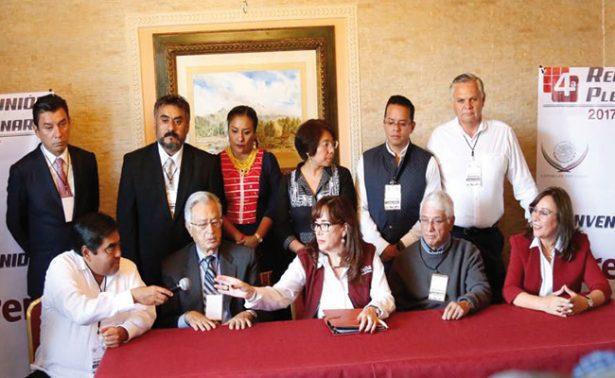 Morena se coloca como cuarta fuerza en San Lázaro; suma 6 experrdistas