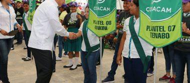 Más oportunidades a jóvenes, prioridad en Campeche