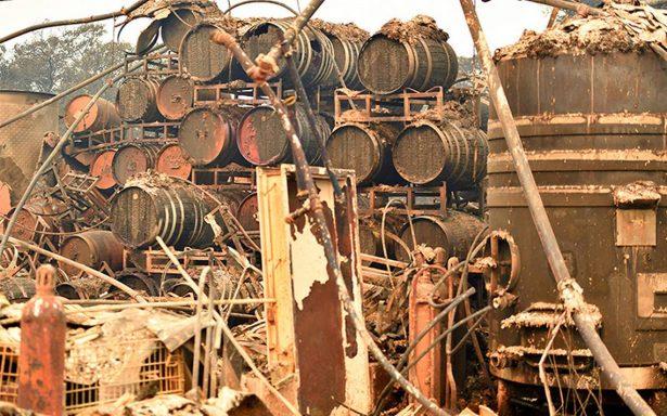Incendios en California dan duro golpe al corazón del vino