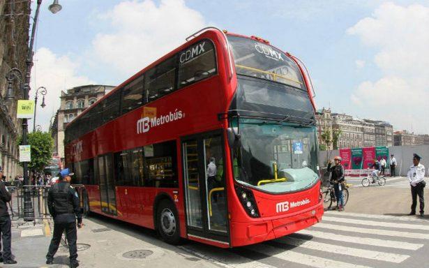 Se mantendrá la tarifa de 6 pesos en la línea de 7 de Metrobús en Reforma