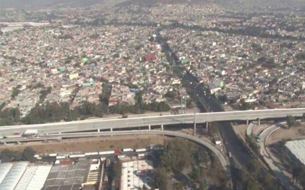 Amanecen cinco municipios mexiquenses con mala calidad del aire