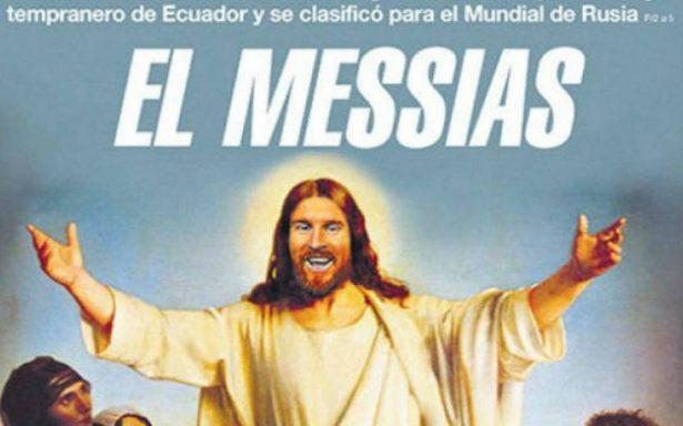 Tras victoria de Argentina ante Ecuador surge el 'Messi-as' del futbol
