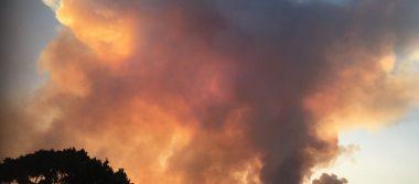 Se registran varios incendios forestales en Morelos